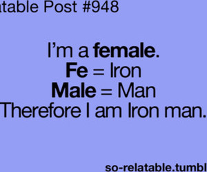 iron man and quote image