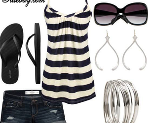 summer, clothes, and outfit image