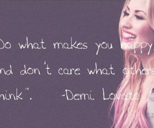demi lovato, happy, and others image