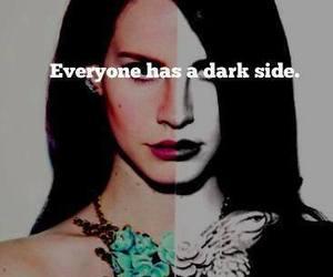 lana del rey, dark, and dark side image