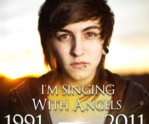 angel, piercing, and rest in peace image