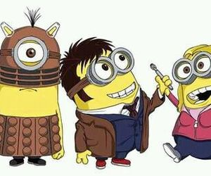 Dalek, minions, and doctor who image