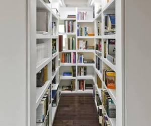 book shelves, books, and dressing image