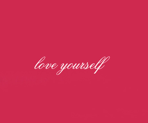 love, pink, and quote image