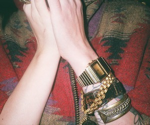 tattoo and gold image