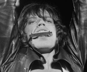 blues, harmonica, and mick jagger image