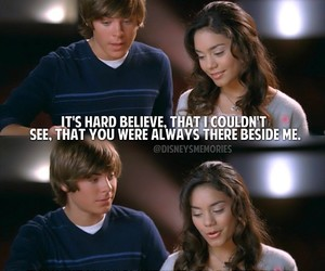 high school musical, quote, and love image