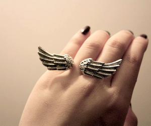 ring, wings, and nails image