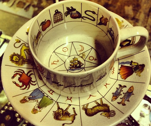 cup and zodiac image