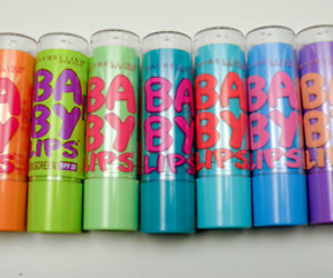 Maybelline and baby lips ! <3 image