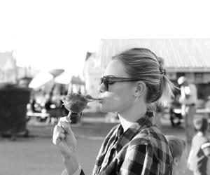 black and white, kate bosworth, and blonde image