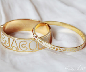 bangle, classy, and gold image