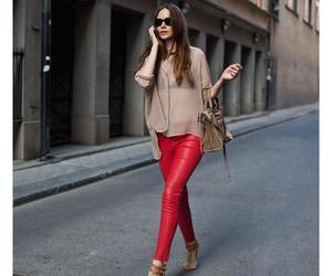 bag, beige, and pantalon image