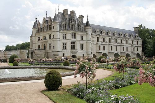 castle, beauty, and garden image