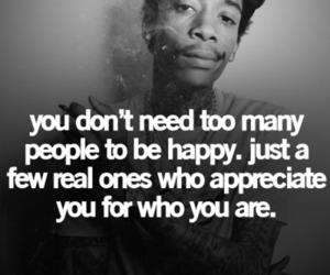 quote, wiz khalifa, and happy image