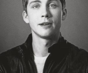 logan lerman, boy, and blue eyes image
