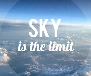 clouds, freedom, and limit image