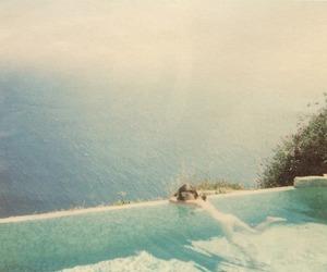 summer, pool, and Sofia Coppola image