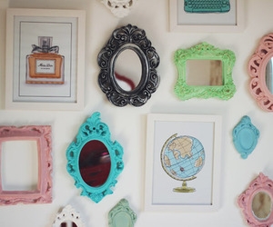 mirror, frame, and decoracao image