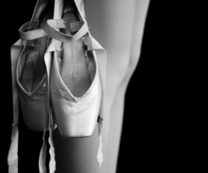 ballet, ballerina, and ballet shoes image