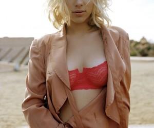 Scarlett Johansson, blonde, and sexy image