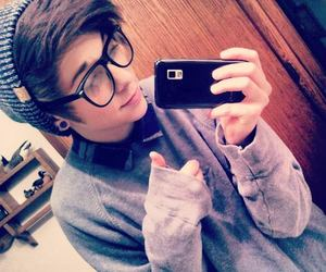 boy, cute, and glasses image