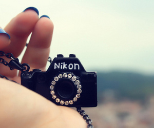 nikon, camera, and nails image