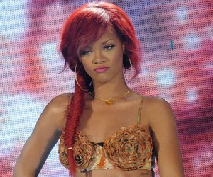 rihanna, red hair, and sexy image