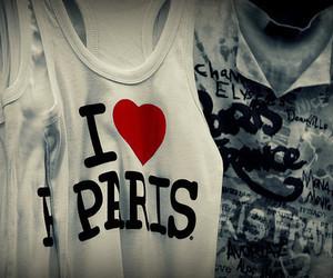 paris, shirt, and t-shirt image