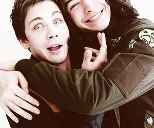 logan lerman, ezra miller, and logan image