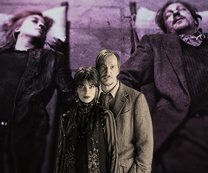 harry potter, lupin, and tonks image