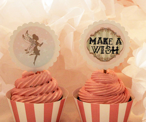 cupcakes, fairy, and food image