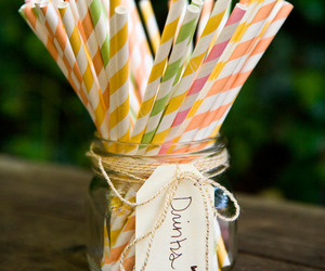 straw and cute image