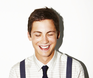 logan lerman, smile, and logan image