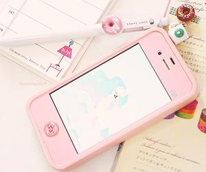 kawaii, cute, and pink image