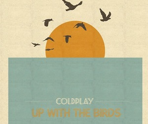beautiful, birds, and coldplay image