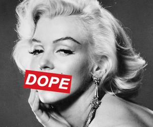 dope, Marilyn Monroe, and marilyn image