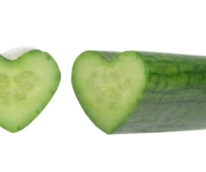 cucumber, healthy, and heart image