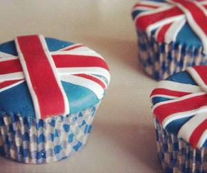 cupcake, england, and british image