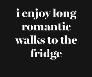 fridge, romantic, and food image
