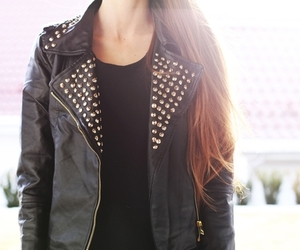 jacket, girl, and outfit image