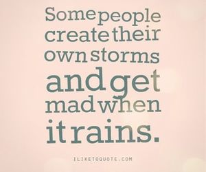 rain, storm, and quote image