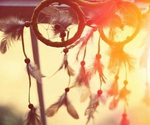 Dream, dreamcatcher, and sun image