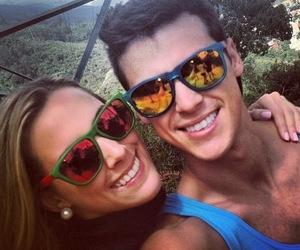 couple, fashion, and glasses image
