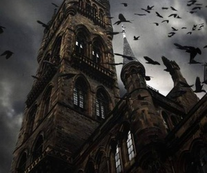 castle, dark, and gothic image