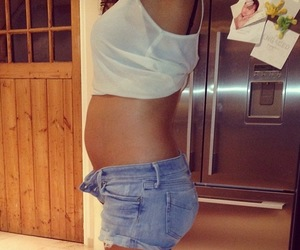 baby, girl, and pregnancy image
