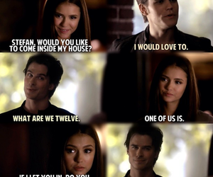 funny, tvd, and damon image