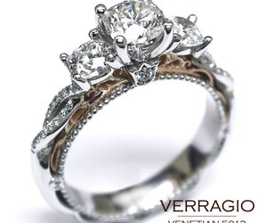 diamond ring, ring, and promise ring image