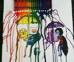 cartoon, JAKe, and marceline image