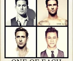 channing tatum, ryan gosling, and adam levine image